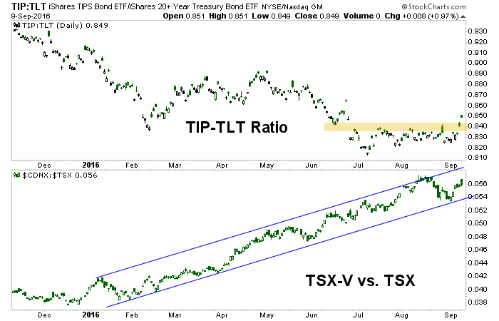 tip, tlt, cdnx and tsx