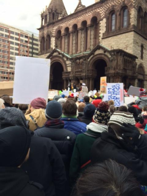 demonstration, boston